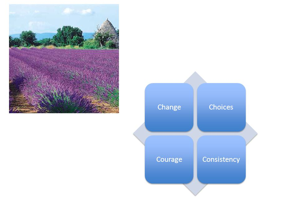 ChangeChoicesCourageConsistency
