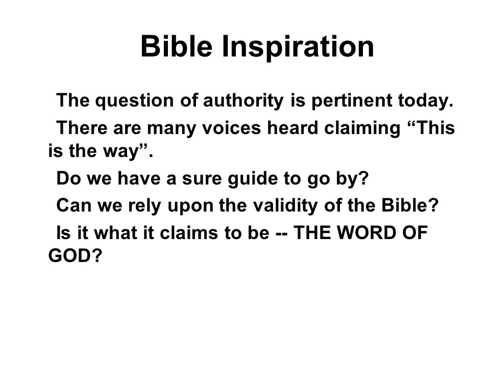 7 BI Bible Inspiration Is the prophet like a stenographer taking dictation from God.