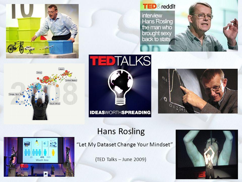 """""""Let My Dataset Change Your Mindset"""" (TED Talks – June 2009)"""