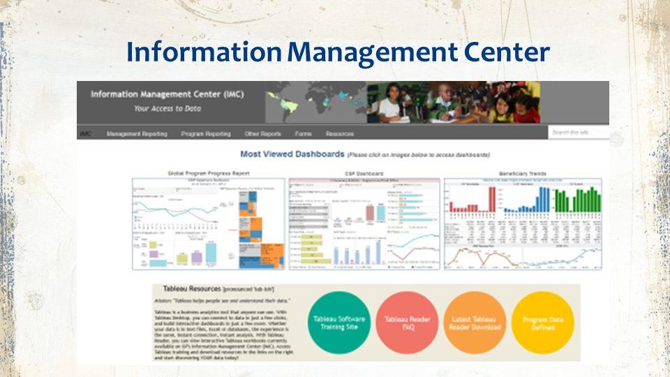 Information Management Center