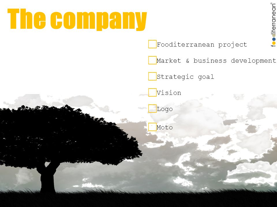 The beneficiaries  SMEs in agri-food sector  Anyone who can add value to the final product  Main characteristics...