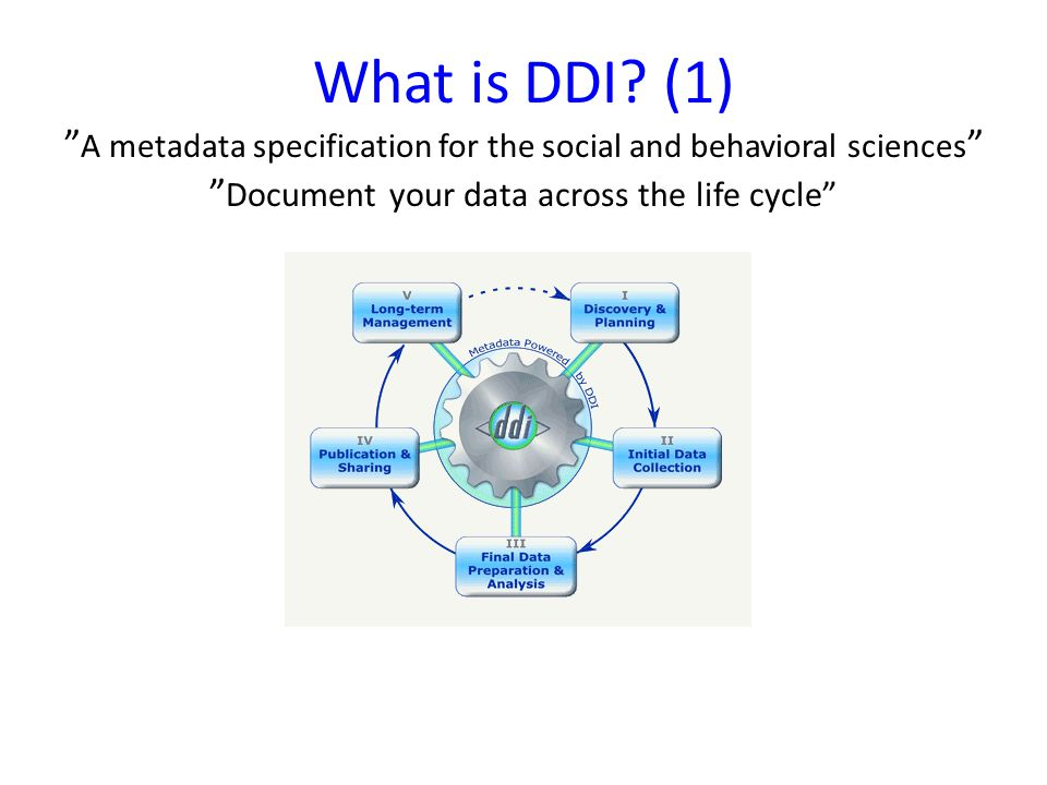 What is DDI.