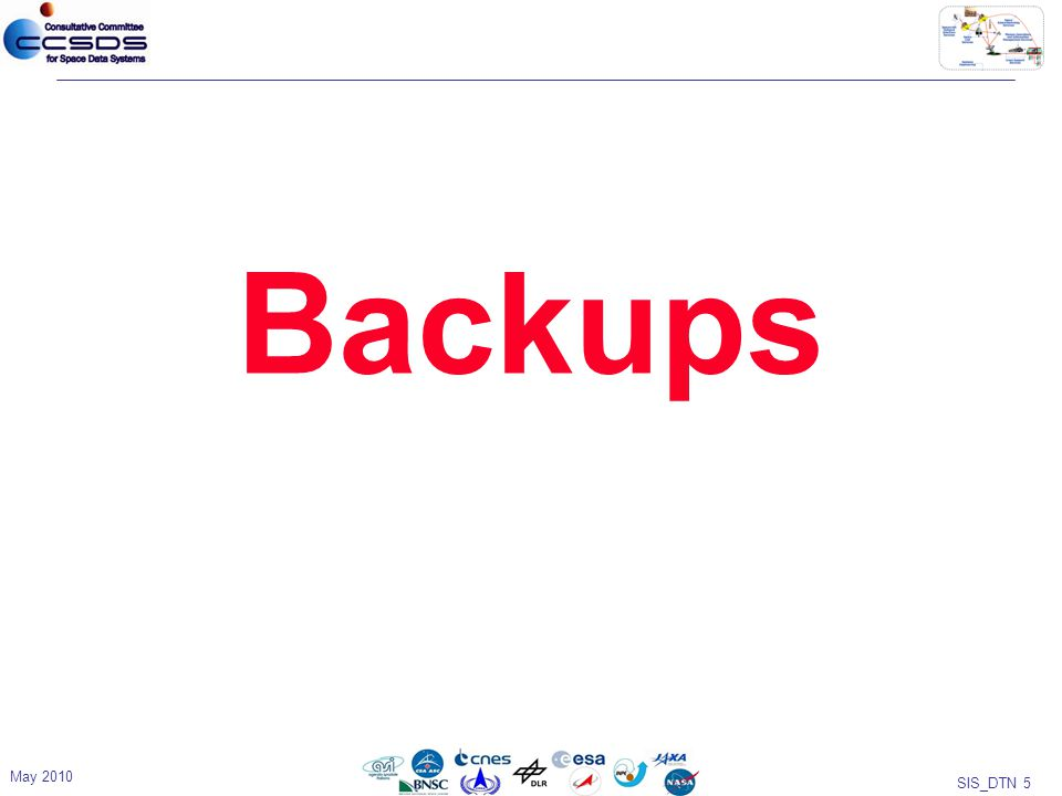 SIS_DTN 5 Backups May 2010