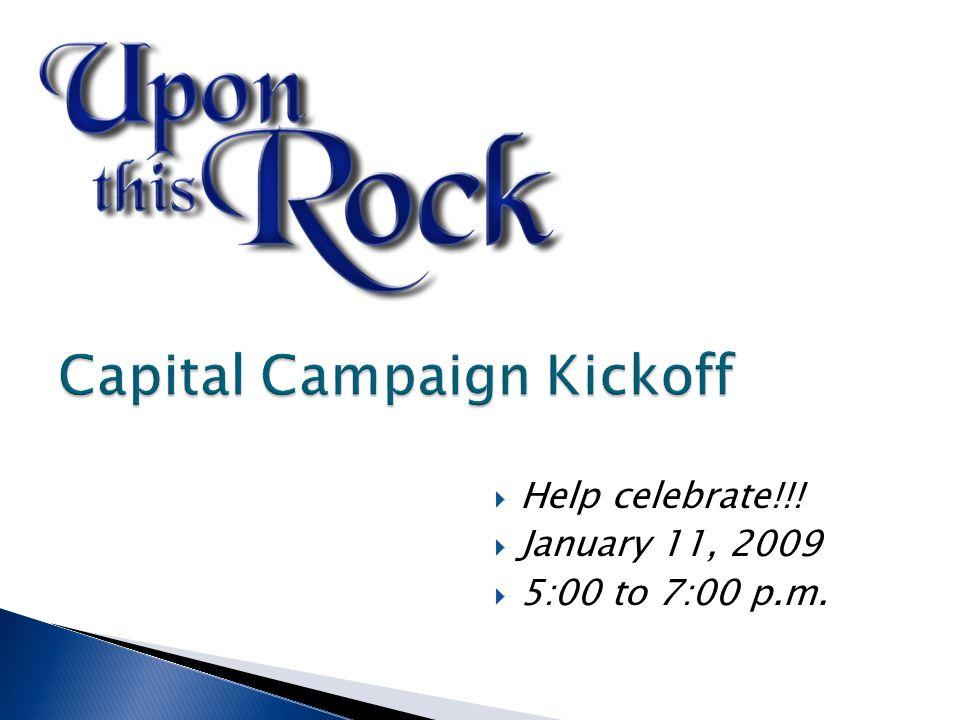  Help celebrate!!!  January 11, 2009  5:00 to 7:00 p.m.