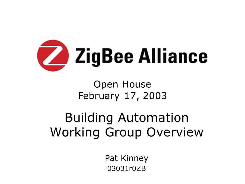 Copyright 2003 The ZigBee Alliance, Inc.
