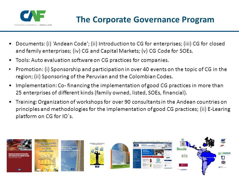 More information http://gc.caf.com Programa de Gobierno Corporativo For more information http://gc.caf.com