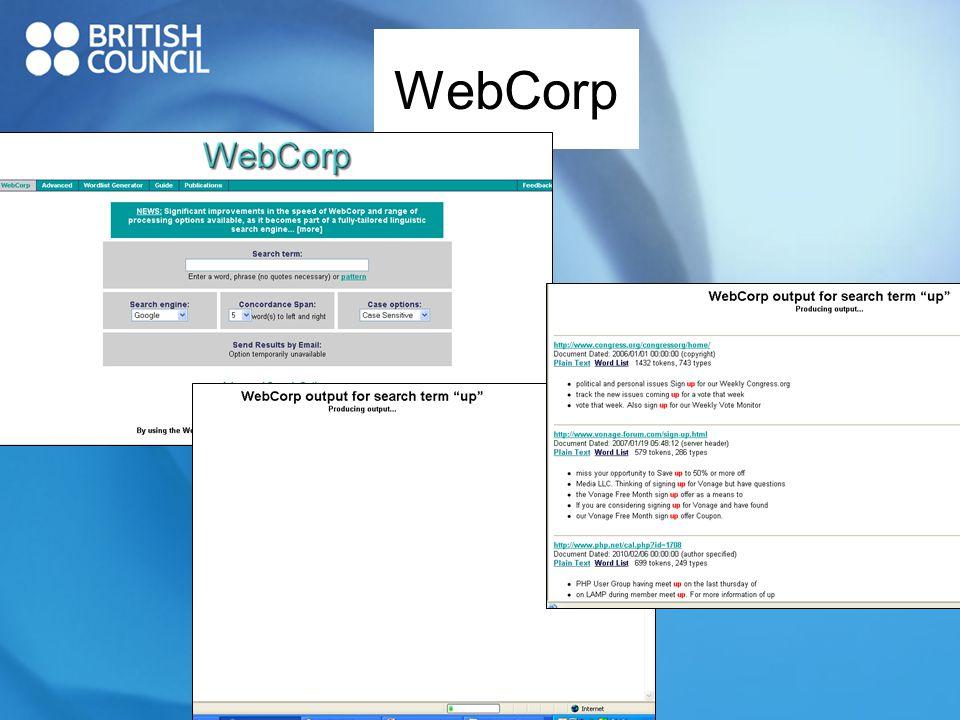 WebCorp