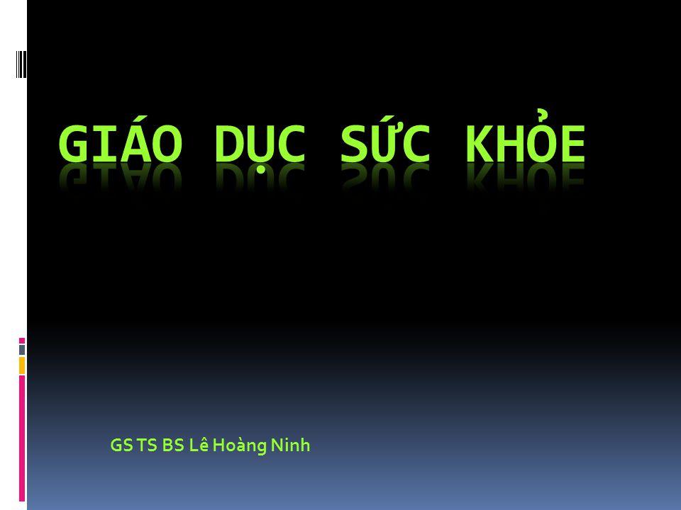 GS TS BS Lê Hoàng Ninh