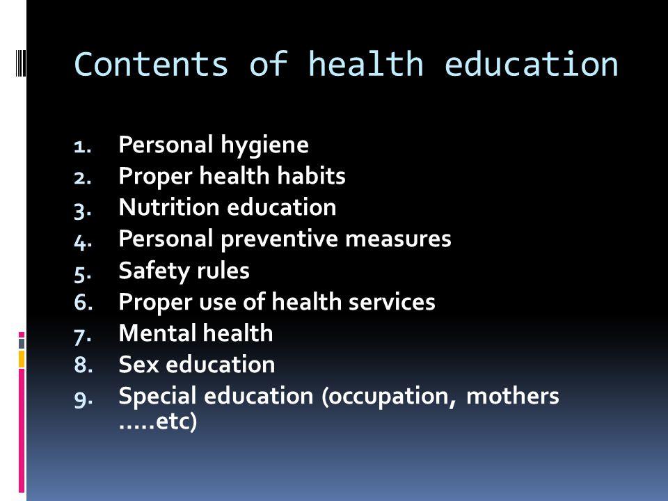 Principles of Health education 1.Interest. 2. Participation.