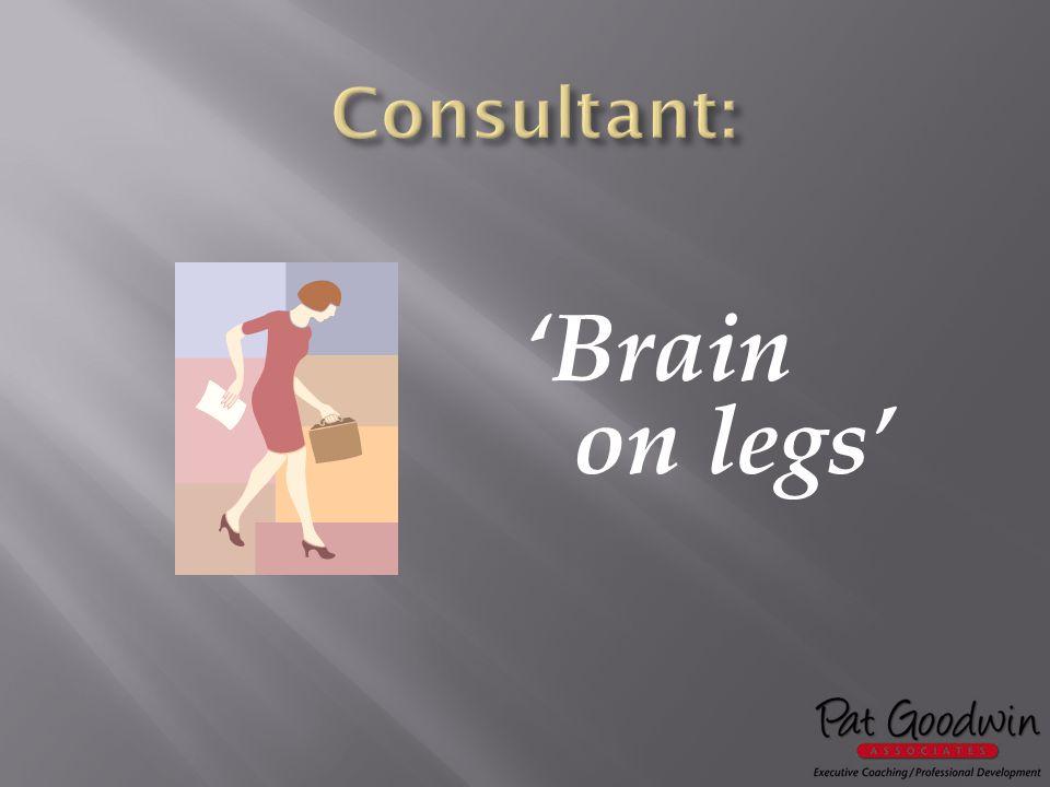 'Brain on legs'