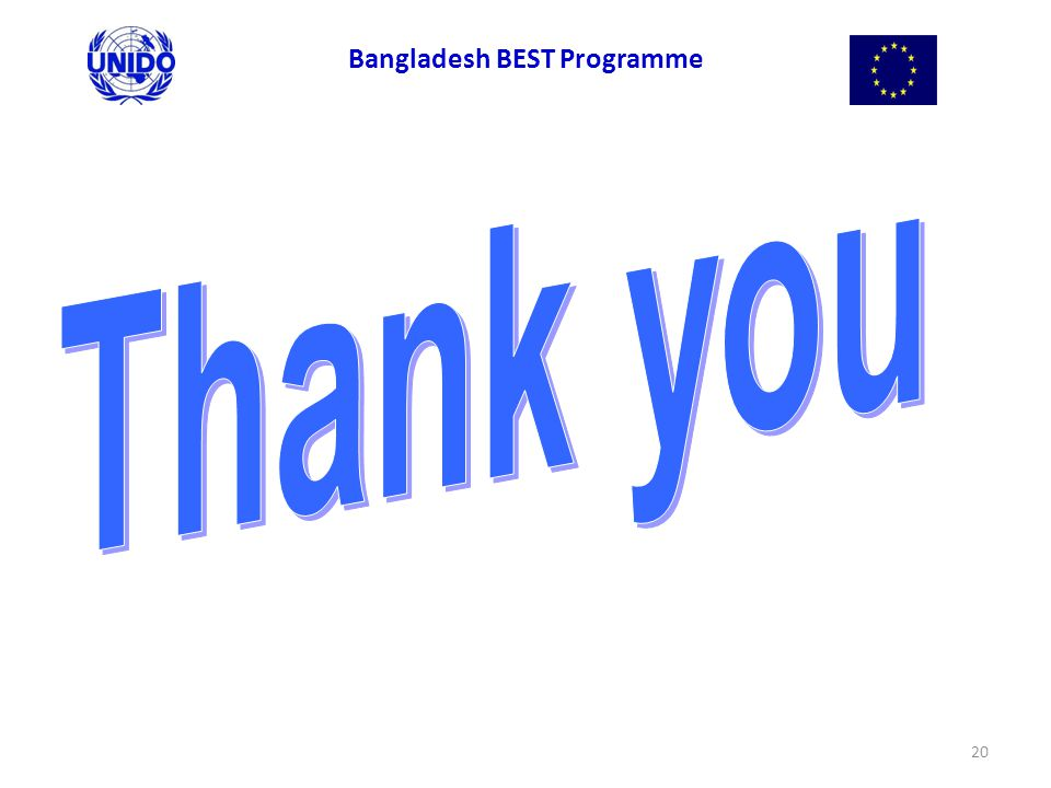 20 Bangladesh BEST Programme