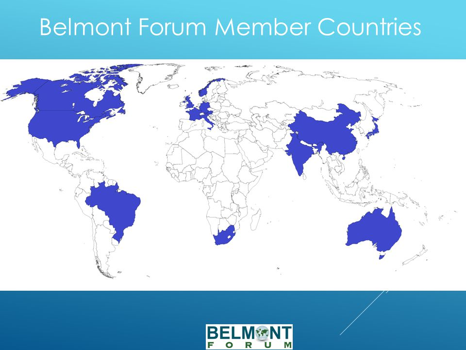 Belmont Forum Member Countries