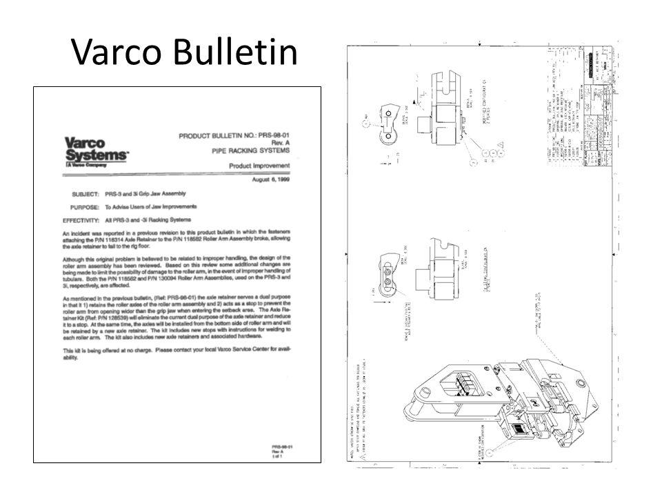 Varco Bulletin