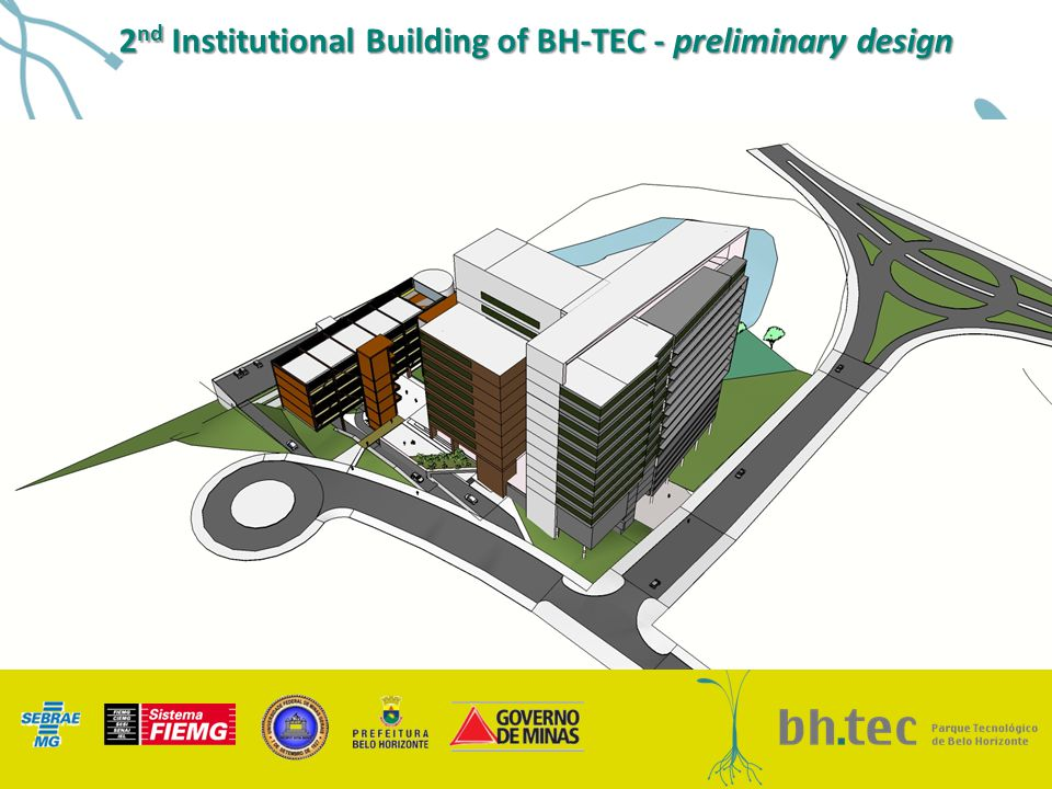 2 nd Institutional Building of BH-TEC - preliminary design