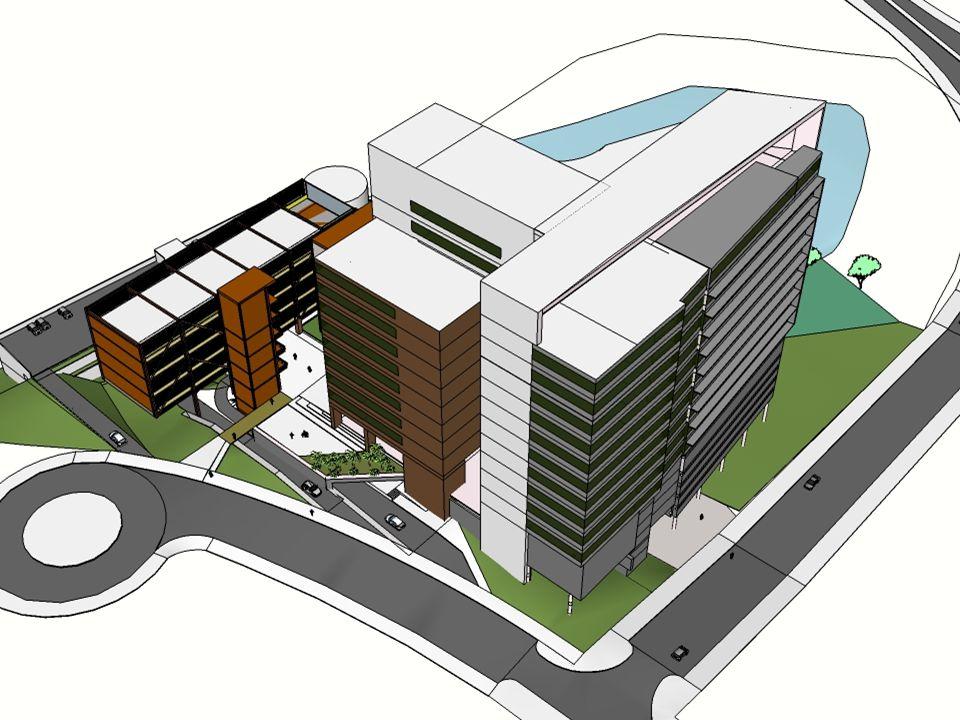 Edifícios Institucionais do BH-TEC - Fases de desenvolvimento