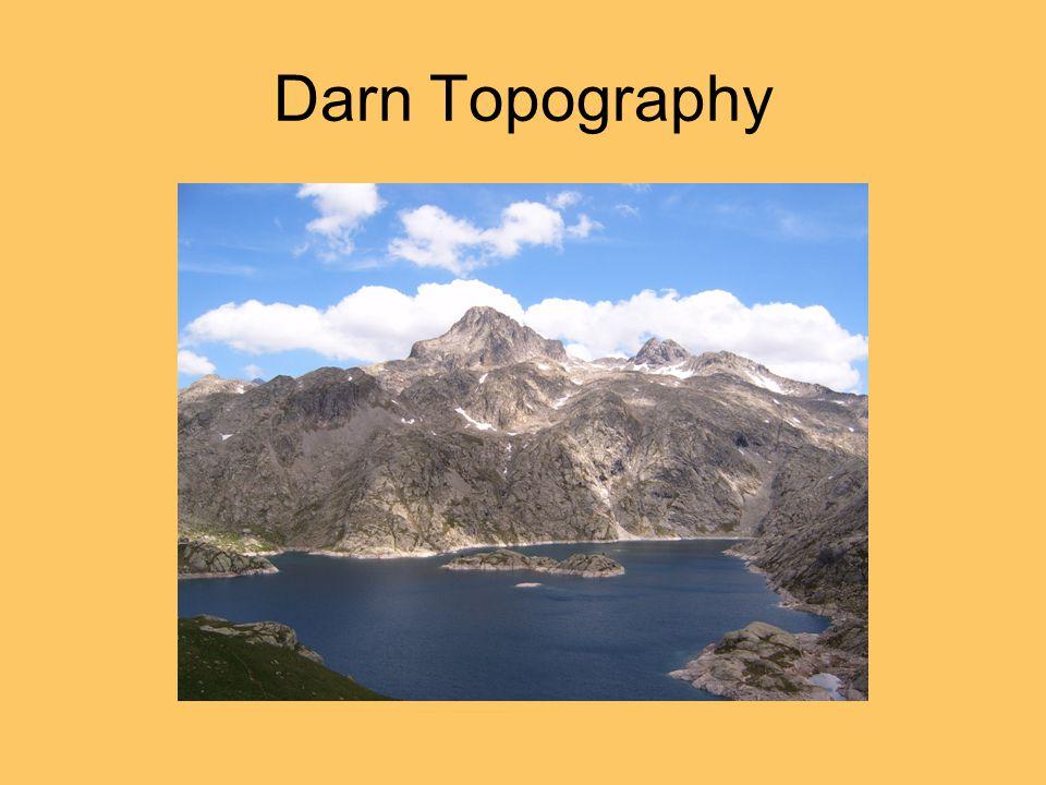 Darn Topography