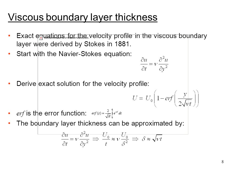 29 The turbulent boundary layer
