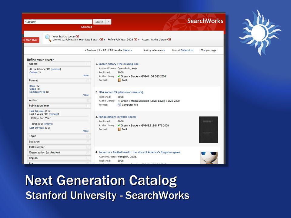 Union Catalog University of Wisconsin – Forward