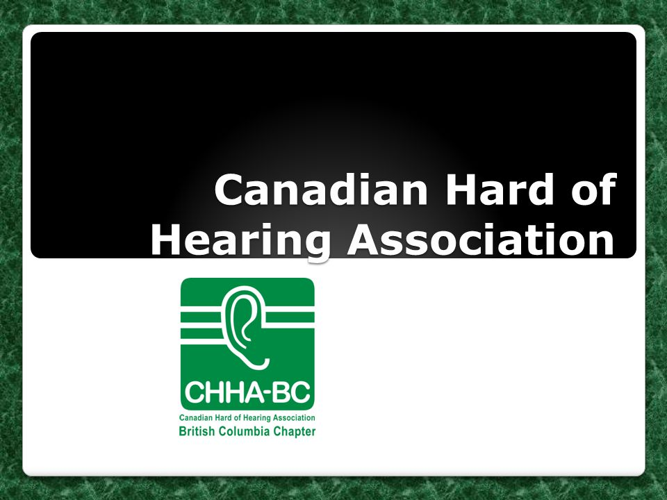 Canadian Hard of Hearing Association-BC Chapter Hospital Kit for People with Hearing Loss