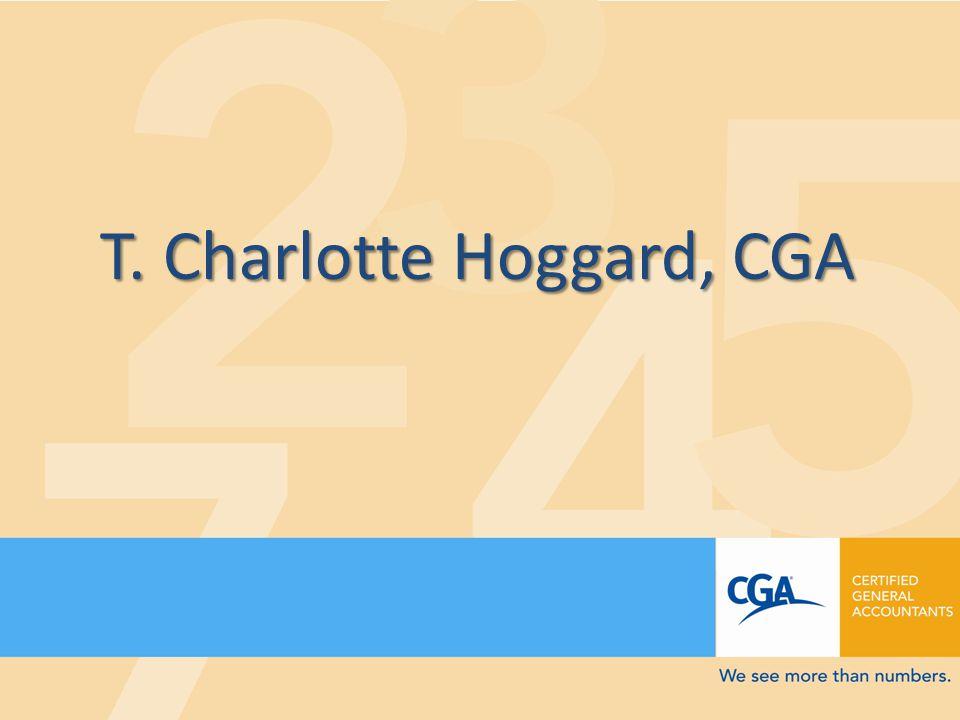 T. Charlotte Hoggard, CGA
