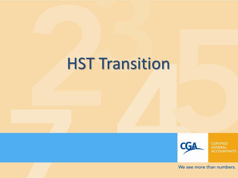 HST Transition