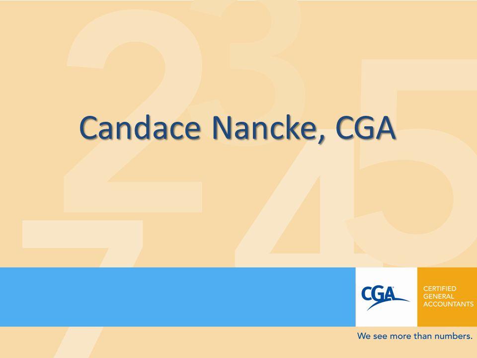 Candace Nancke, CGA