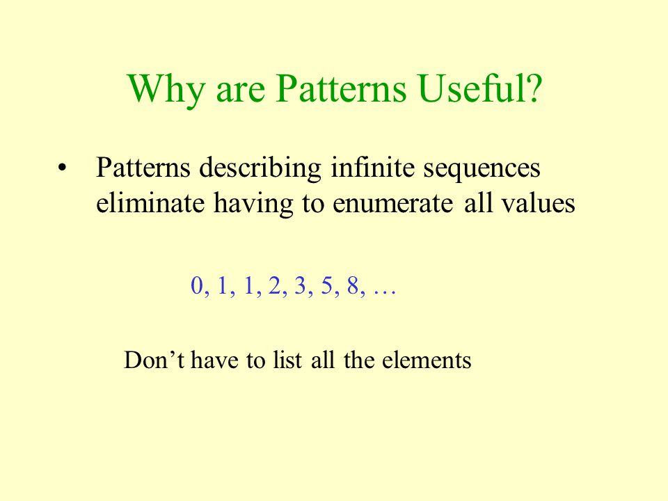 Describing Design Patterns Design Patterns are presented in a similar (fairly standardized) fashion