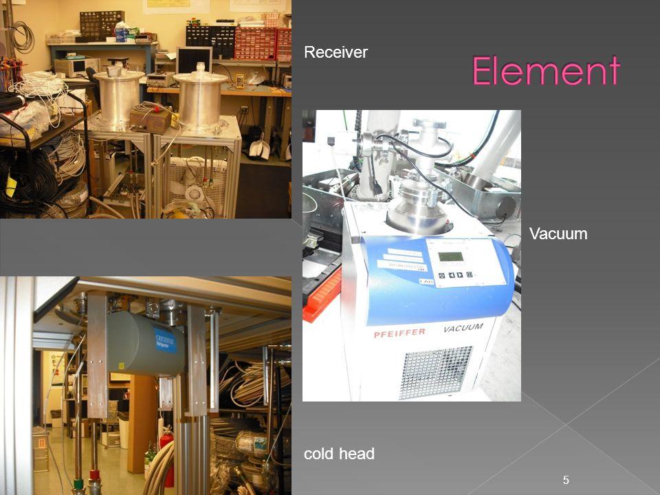 5 Vacuum cold head Receiver