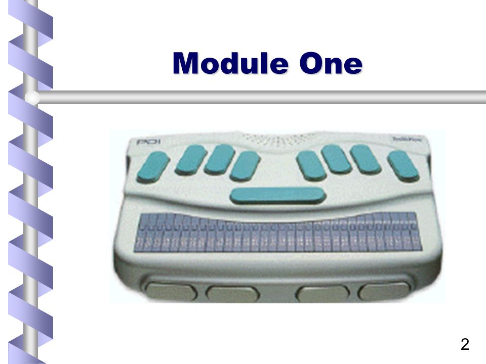 2 Module One