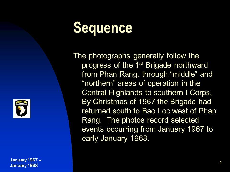 January 1967 -- January 1968 55 Bravo Company takes another LZ