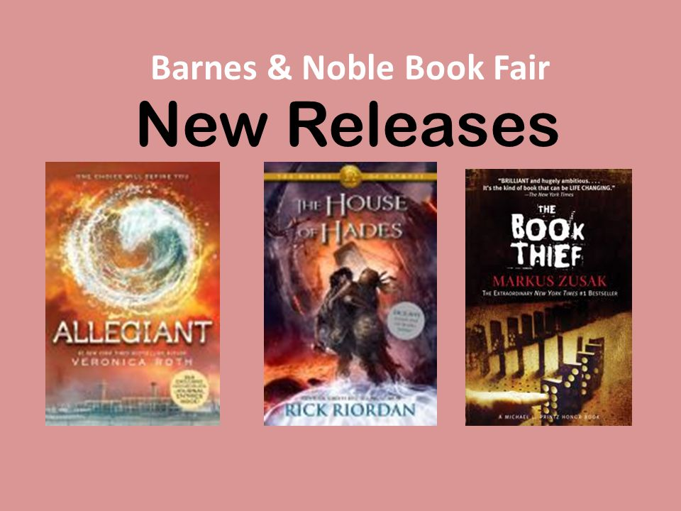 New Releases Barnes & Noble Book Fair
