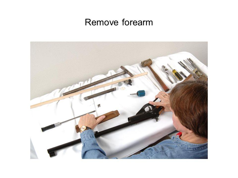 Remove forearm