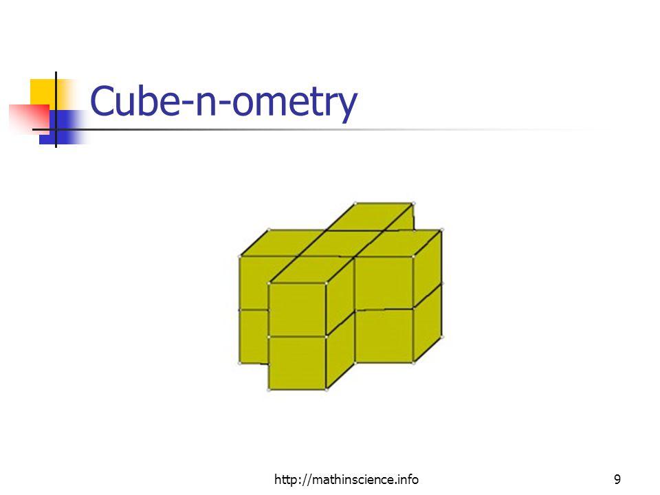http://mathinscience.info9 Cube-n-ometry