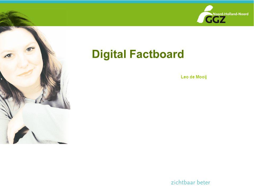 Digital Factboard Leo de Mooij