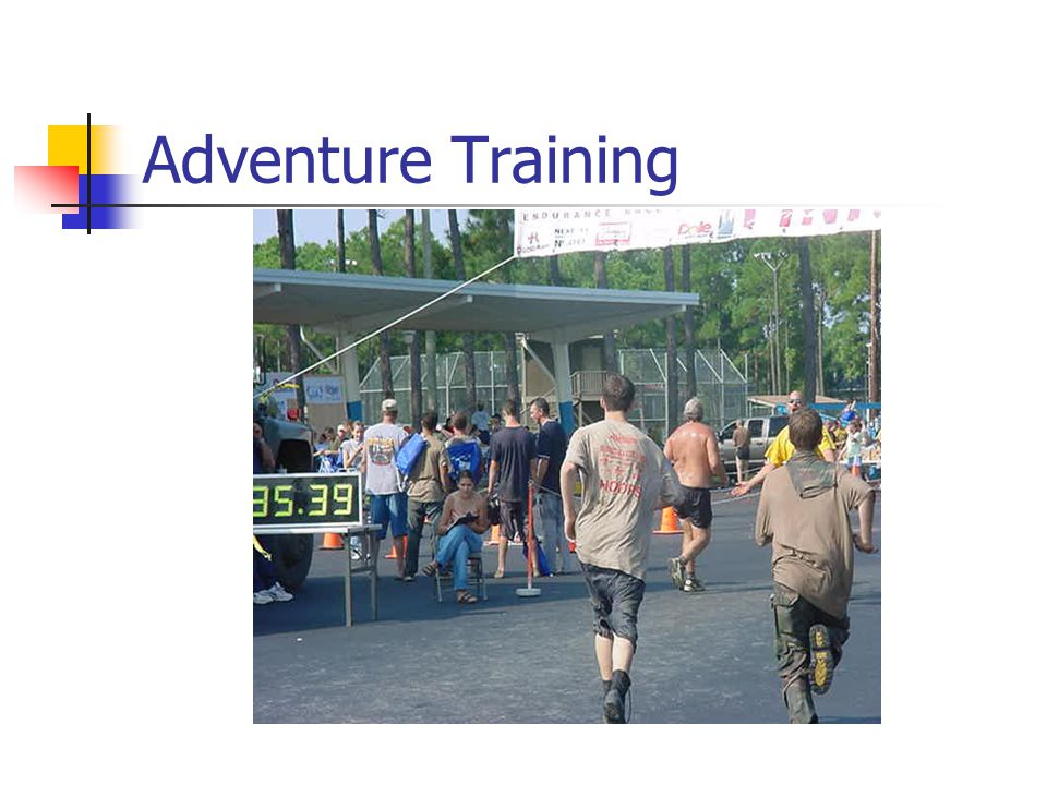 Adventure Training