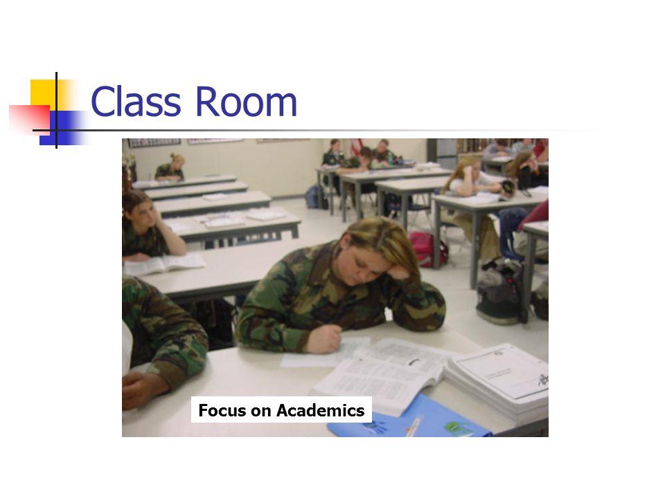 Class Room Focus on Academics