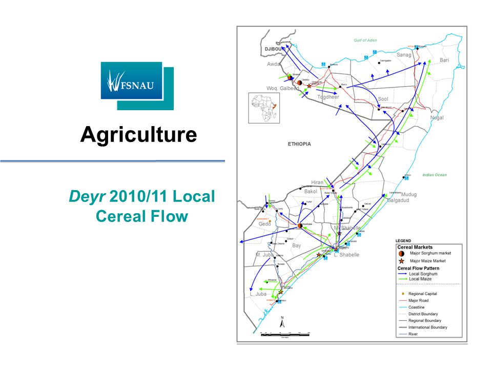 Deyr 2010/11 Local Cereal Flow Agriculture