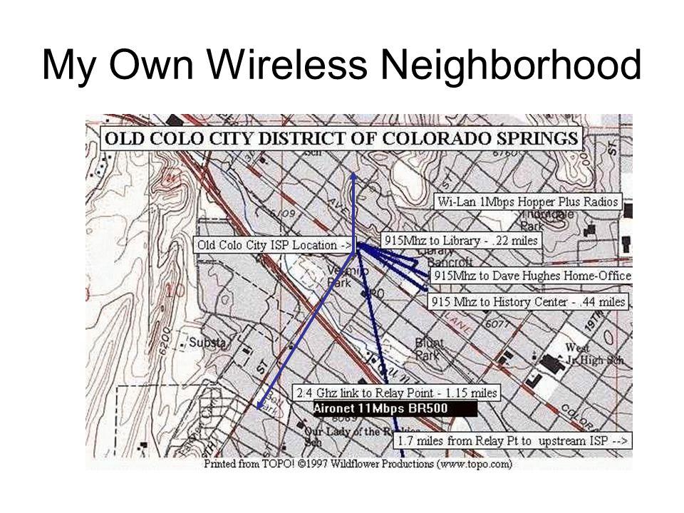 My Own Wireless Neighborhood