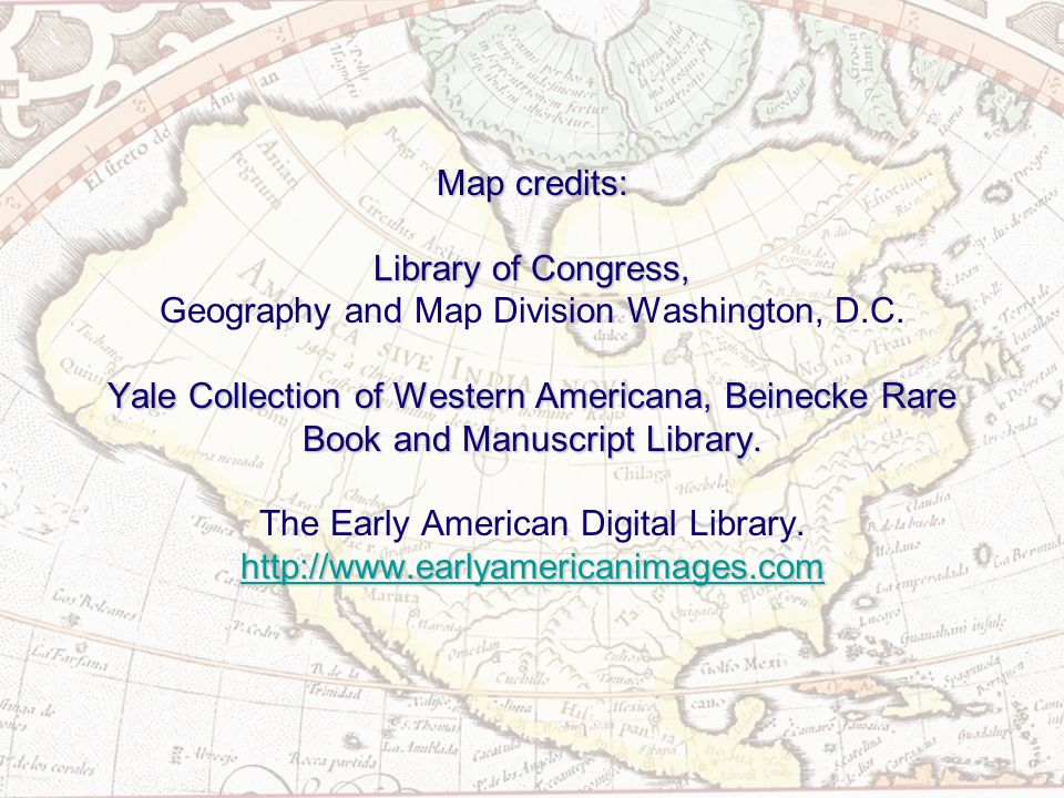 Map credits: Library of Congress, Yale Collection of Western Americana, Beinecke Rare Book and Manuscript Library.