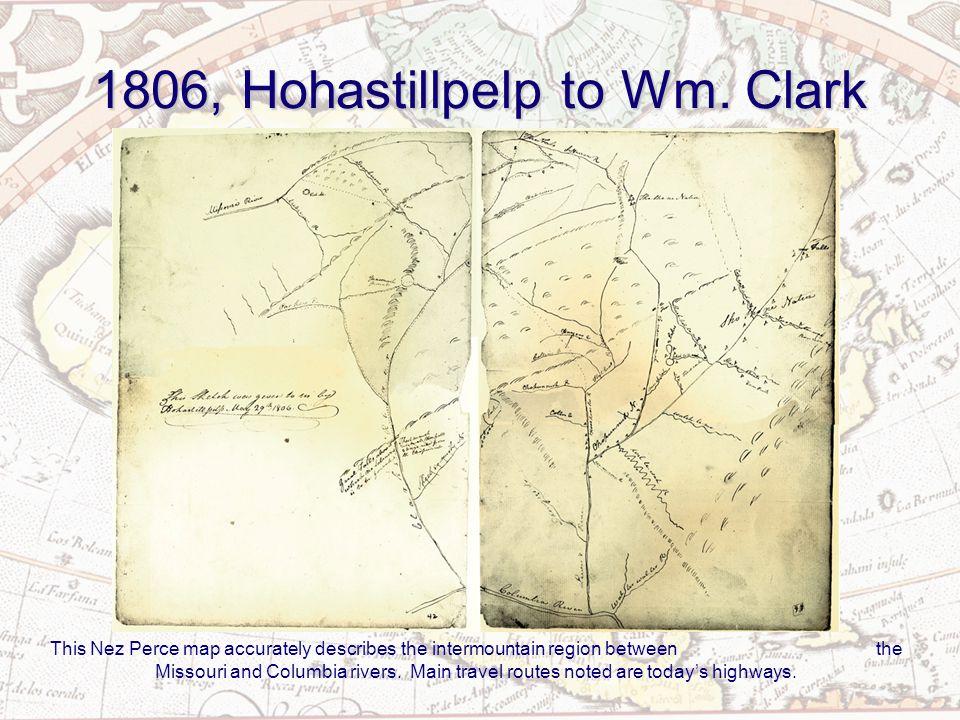 1801, Ac co mok ki to Peter Fidler Blackfeet Indian map of Upper Missouri River country