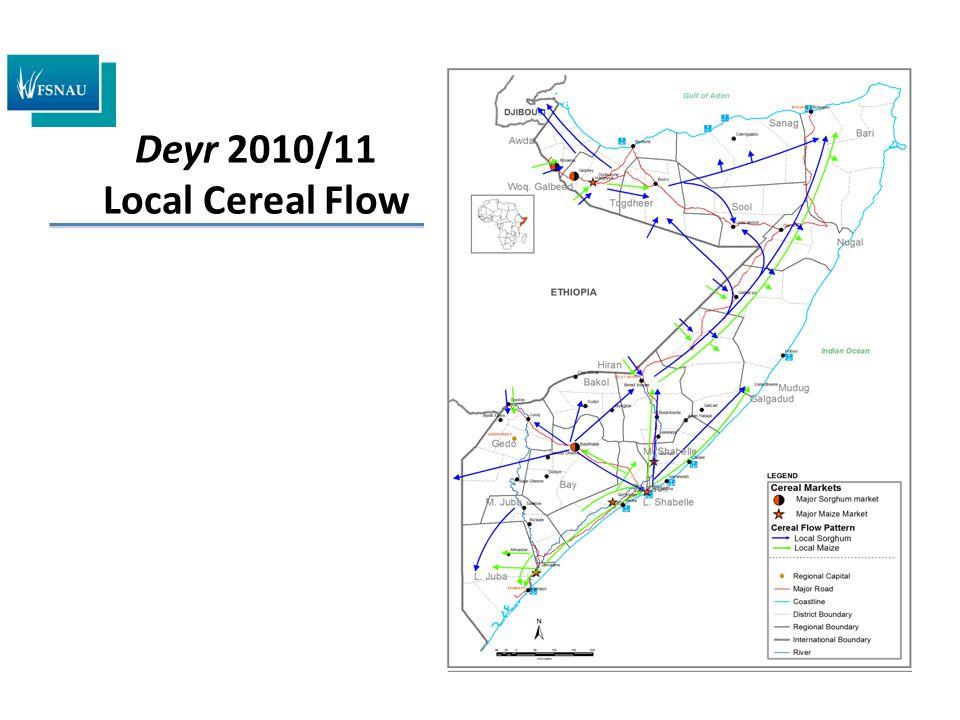 Deyr 2010/11 Local Cereal Flow