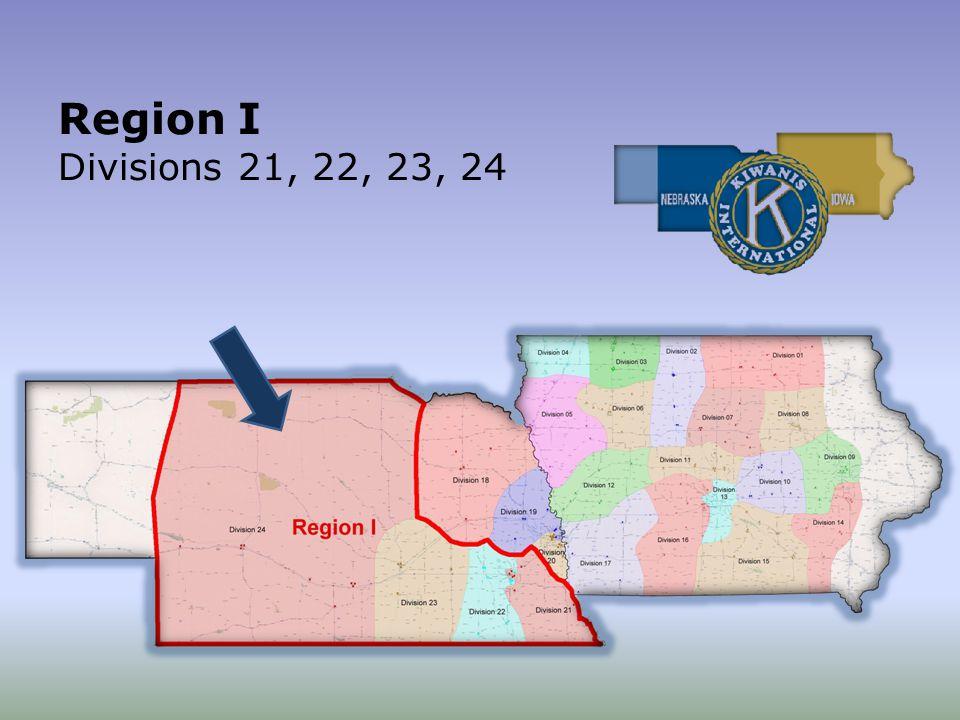 Region I Divisions 21, 22, 23, 24