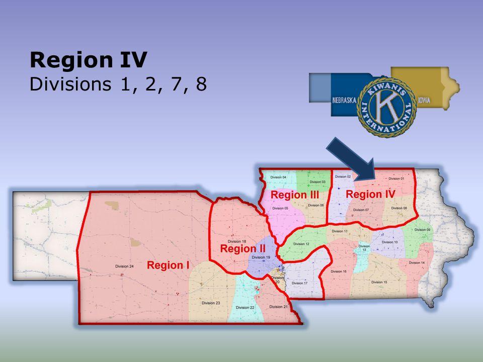 Region IV Divisions 1, 2, 7, 8
