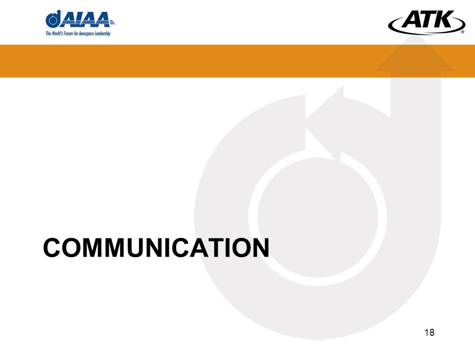 COMMUNICATION 18