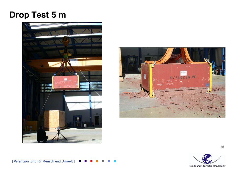 10 Drop Test 5 m