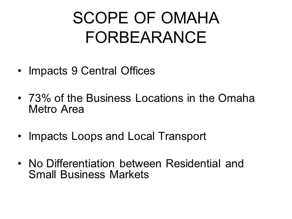 Before FCC Forbearance Order
