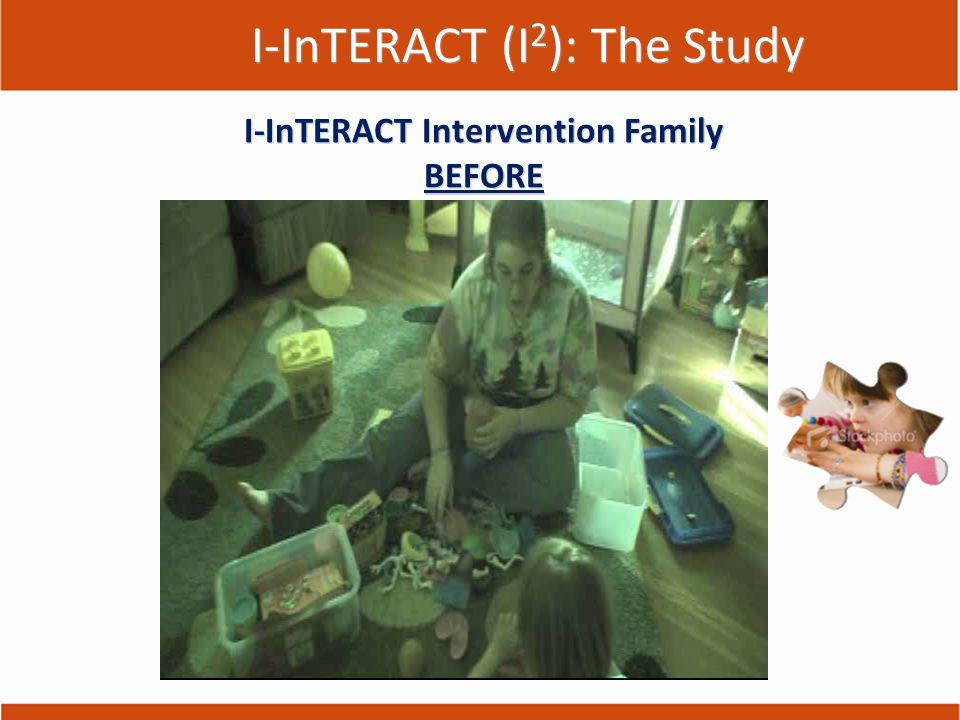 I-InTERACT (I 2 ): The Study I-InTERACT Intervention Family BEFORE