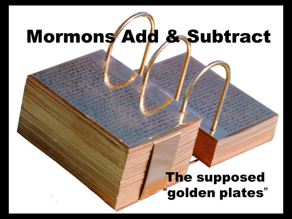 Subtractors Marcion (AD 170) Thomas Jefferson (1813) Jehovahs Witnesses (1961) Marcion (AD 170) Thomas Jefferson (1813) Jehovahs Witnesses (1961)