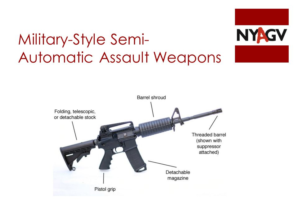 Military-Style Semi- Automatic Assault Weapons