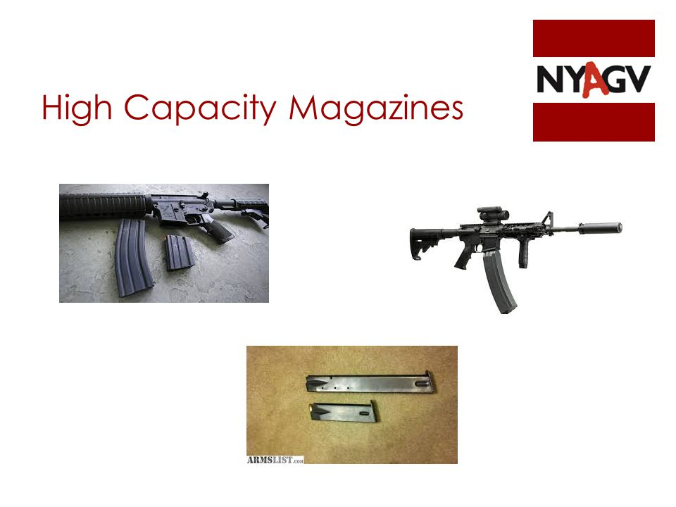 High Capacity Magazines